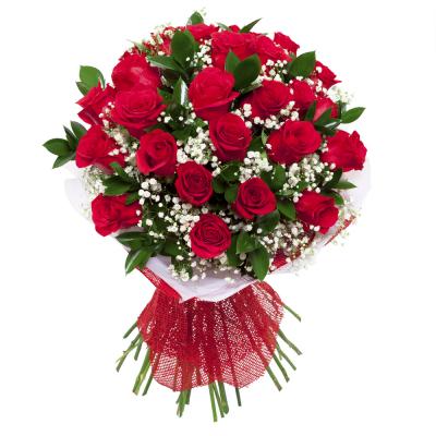גן ורדים להזמין זר אדום