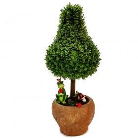 עץ ירוק מלאכותי