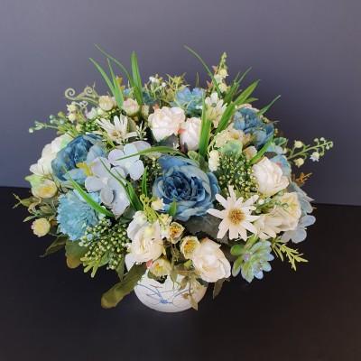 פרחים מלאכותיים,פרחי משי,סידורי פרחים מלאכותיים