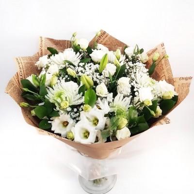 Winter Frost Bouquet