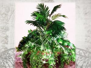 עיצוב עם צמחים מלאכותיים